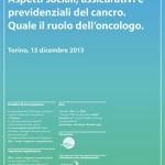 Aspetti sociali, assicurativi e previdenziali in oncologia_13 dic13