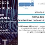 webinar_CDI_Firme, CIE e Spid: l'evoluzione della nostra identità digitale_13nov20